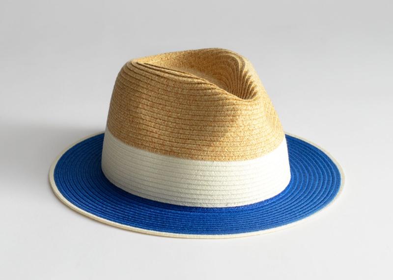 & Other Stories Straw Fedora Hat $25
