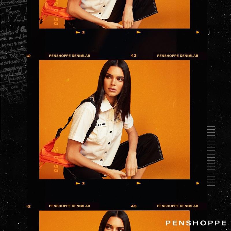 Kendall Jenner strikes a pose in Penshoppe DenimLab 2019 campaign