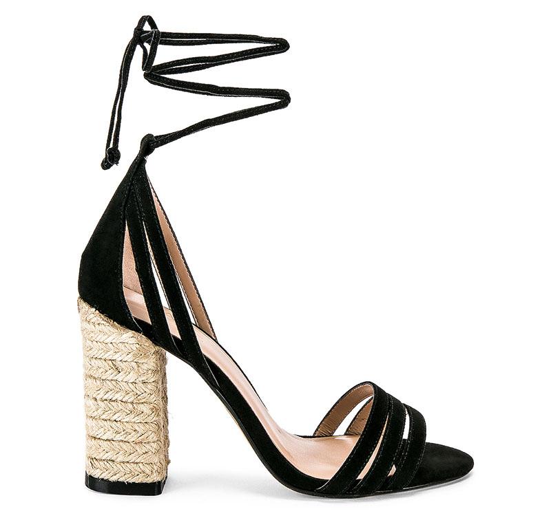 RAYE Barton Heel in Black $188