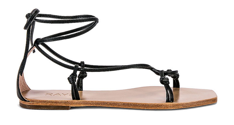 RAYE Omni Sandal in Black $148