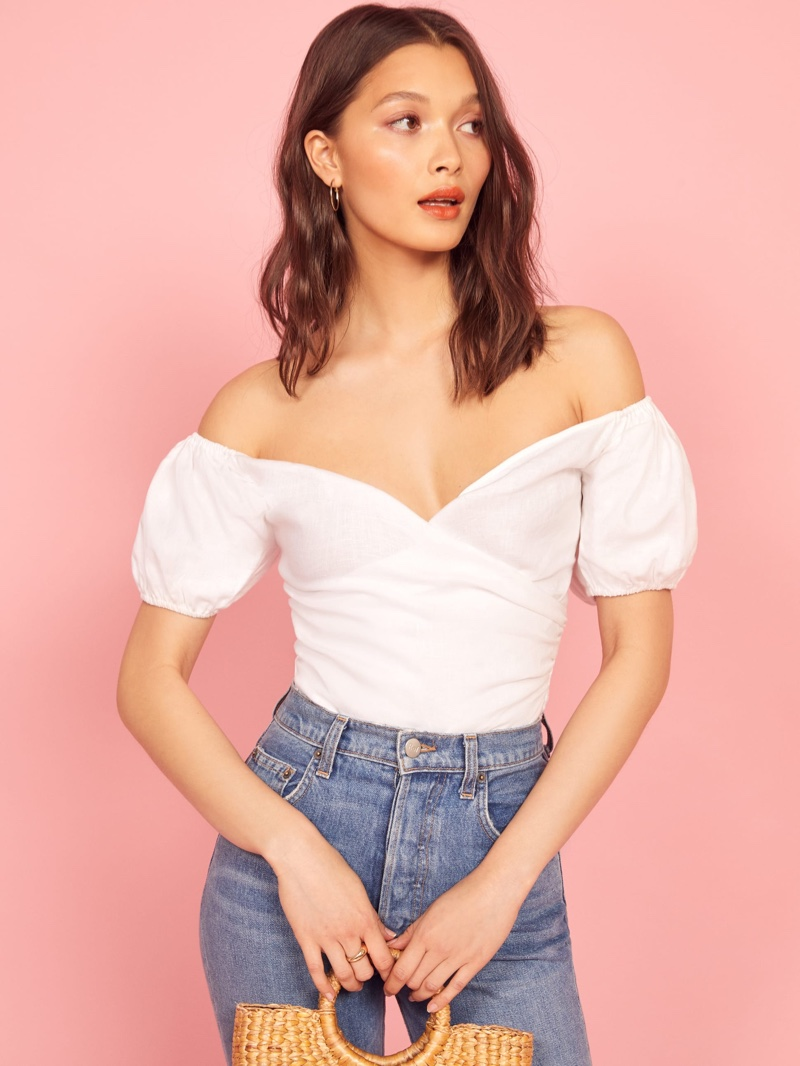 Reformation Framboise Top $148