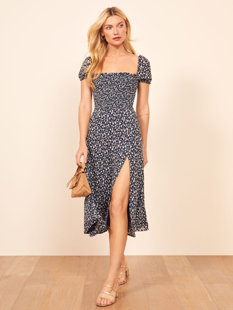 Reformation Inka Dress in Elyse $248