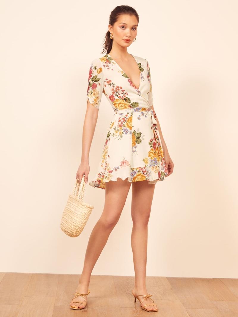 Reformation Monica Dress in Bouquet $198