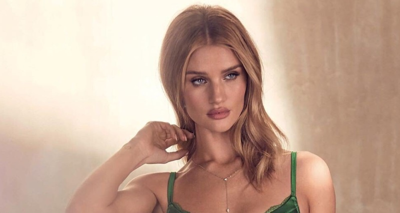 Rosie Huntington-Whiteley stars in Autograph Lingerie summer 2019 campaign