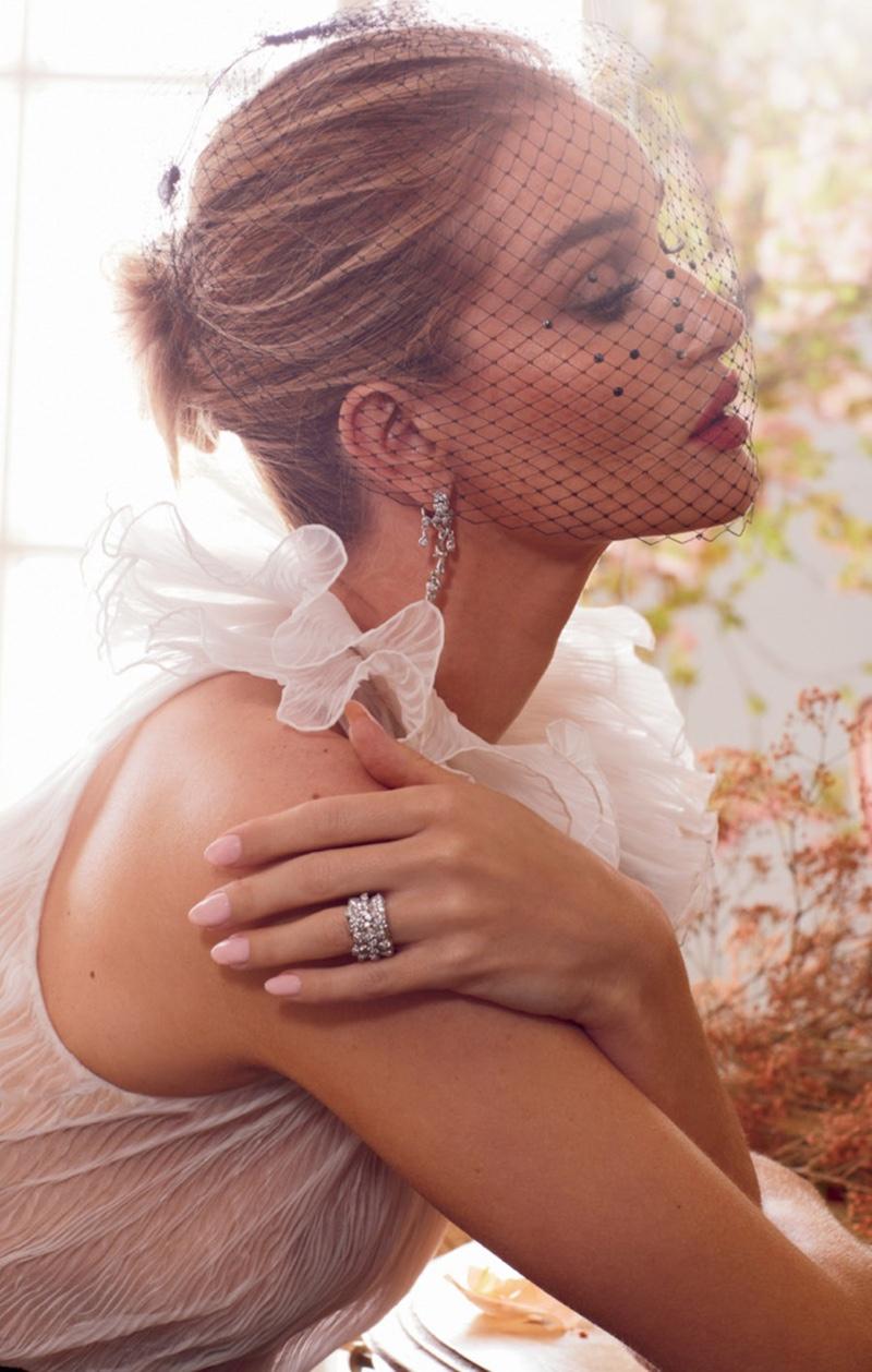 Rosie Huntington-Whiteley Models Luxe Looks for Harper's Bazaar UK