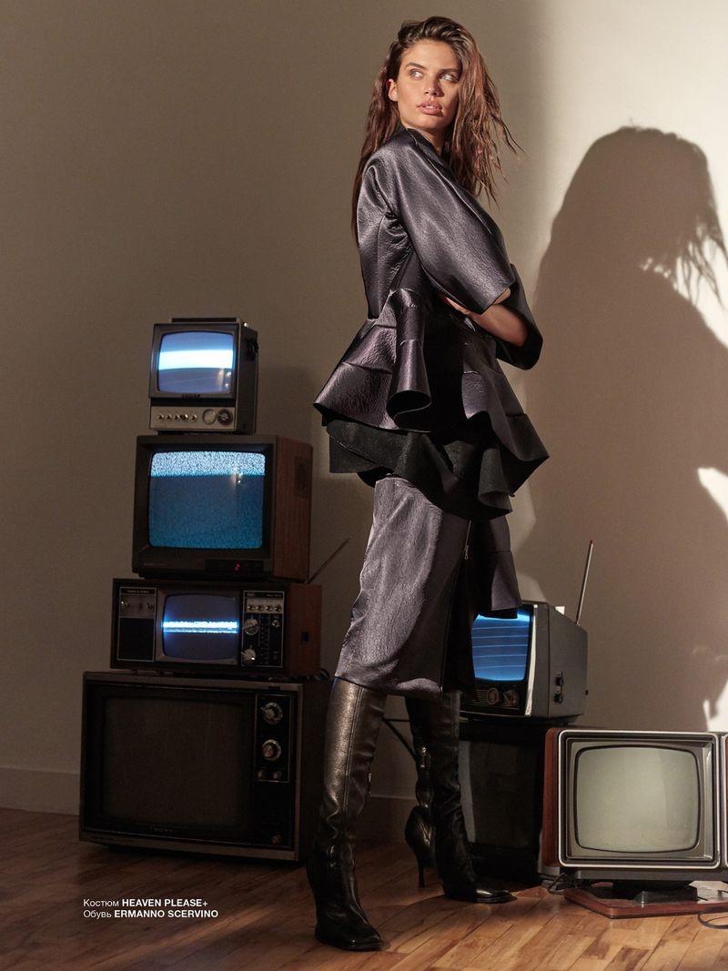 Sara Sampaio Poses in Digital Visions for Numero Russia