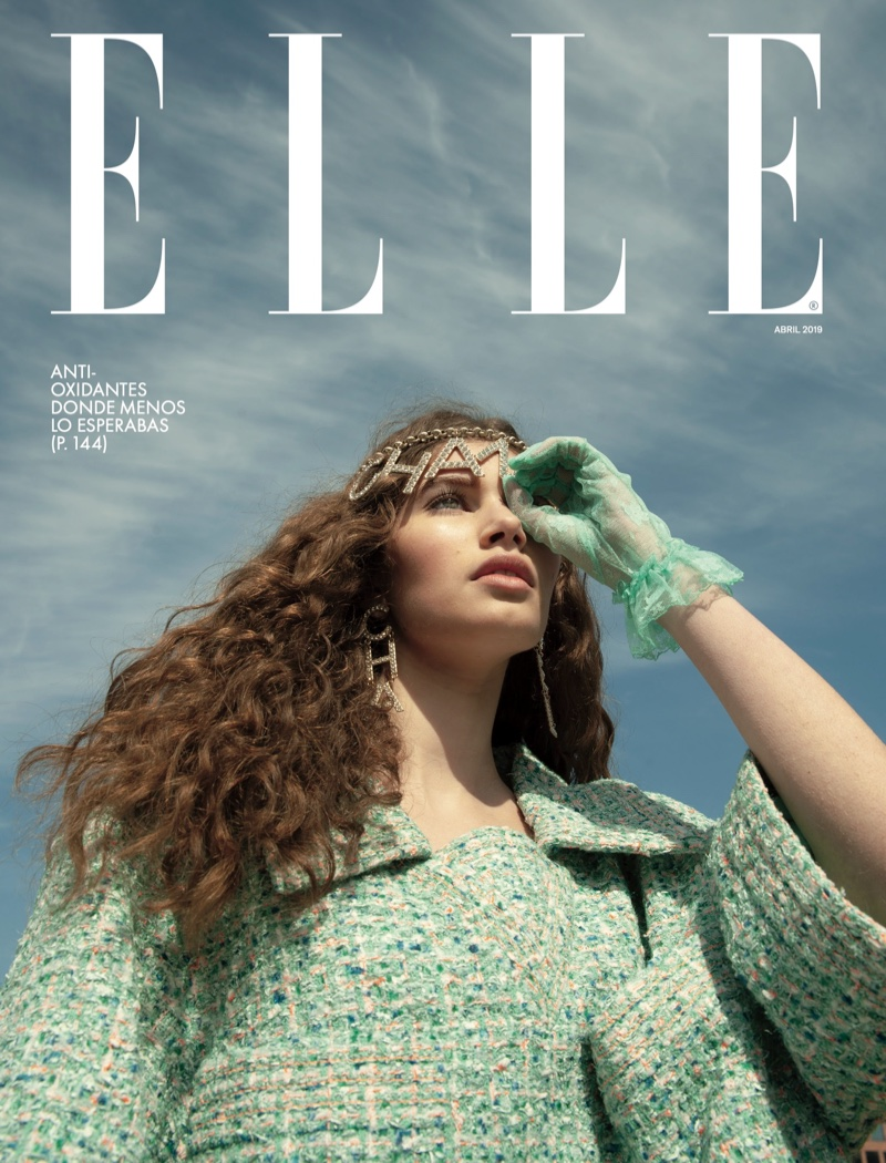 Sienna Raine Hits the Field for ELLE Mexico