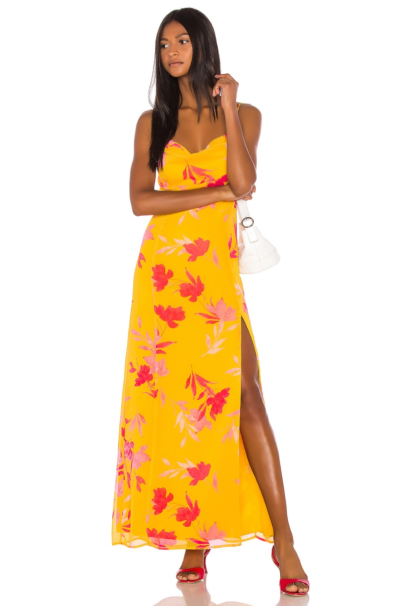 Song of Style Eli Maxi Dress $218