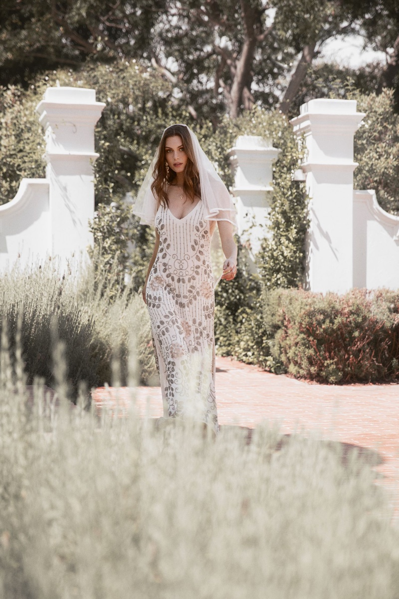 Model wears Elsa gown from Spell & the Gypsy Collective Bridal 2019 collection