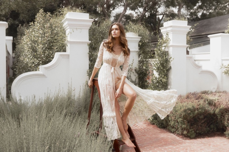 The Chloe duster takes the spotlight in Spell & the Gypsy Collective bridal line