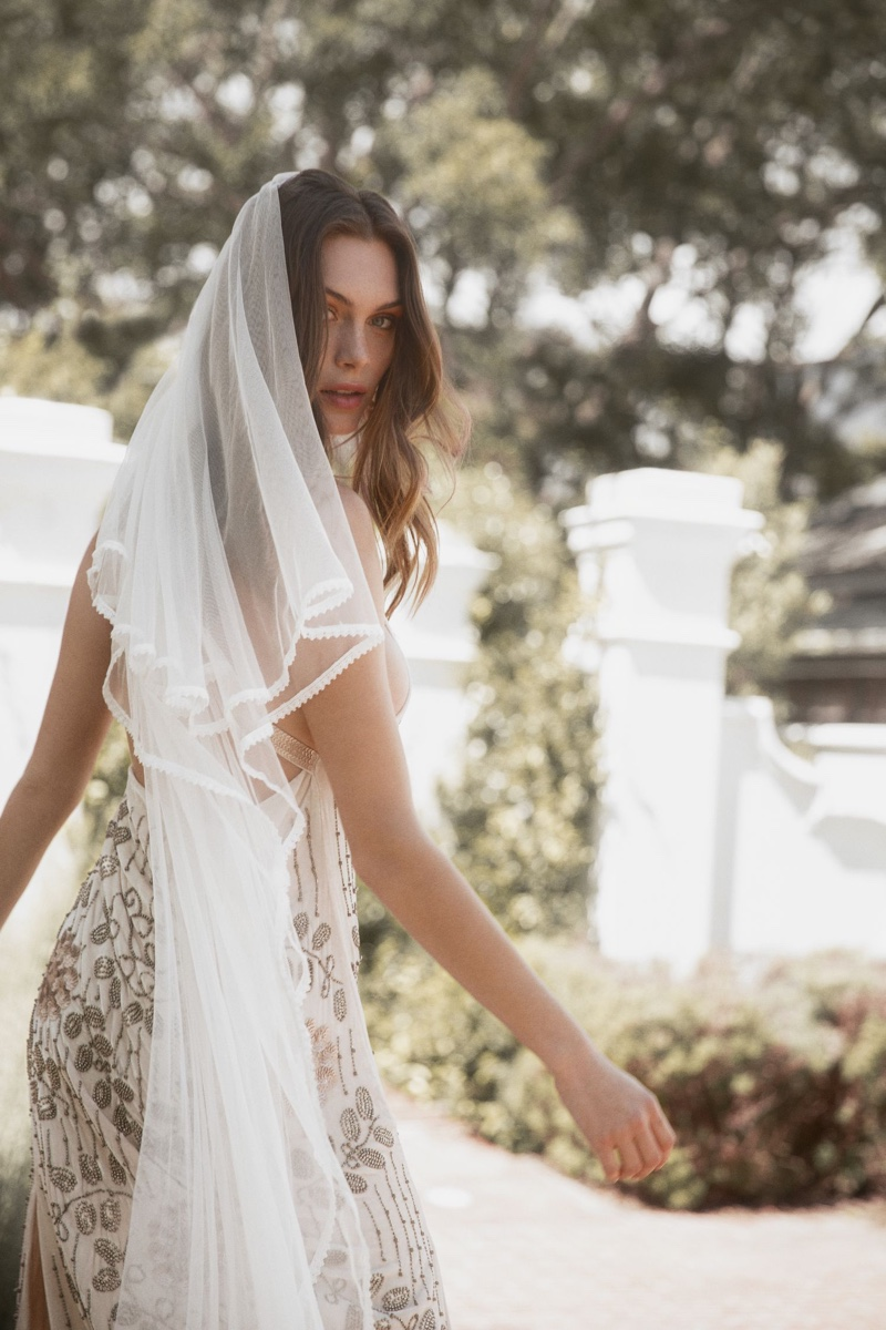 The Zoey Mesh veil from Spell & the Gypsy Collective's 2019 Bridal collection