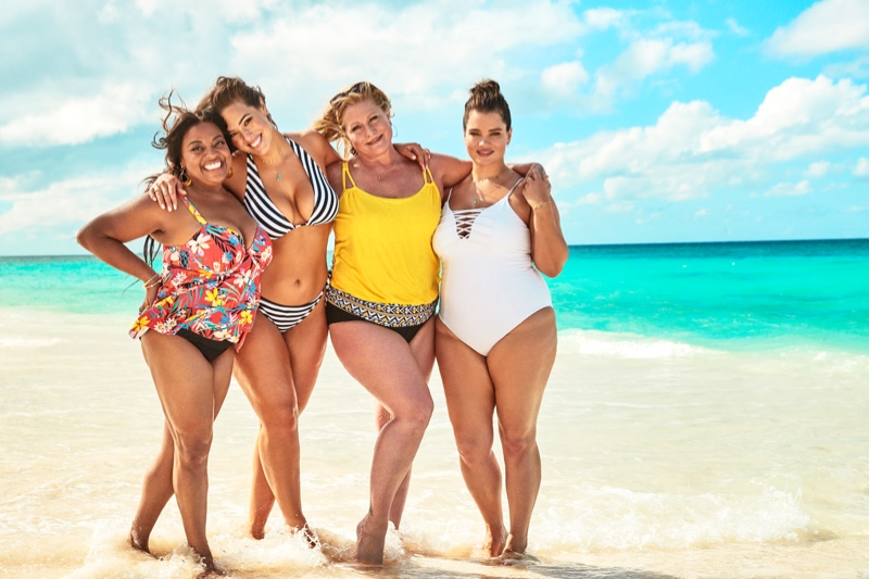 Sherrie Shepard, Ashley Graham, Tara Lynn and Emme take the spotlight in Swimsuits For All summer 2019 campaign