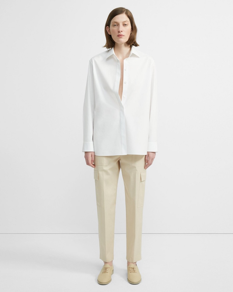 Theory Stretch Chino Easy Cargo Pant $325