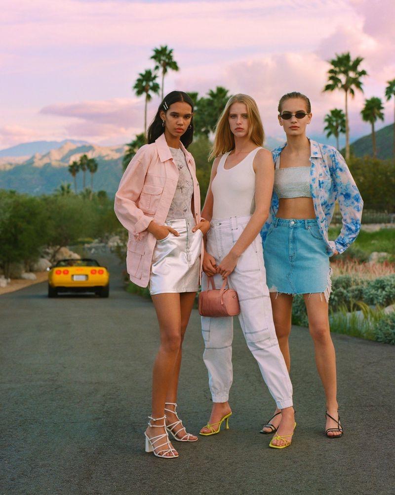 Topshop unveils spring-summer 2019 campaign