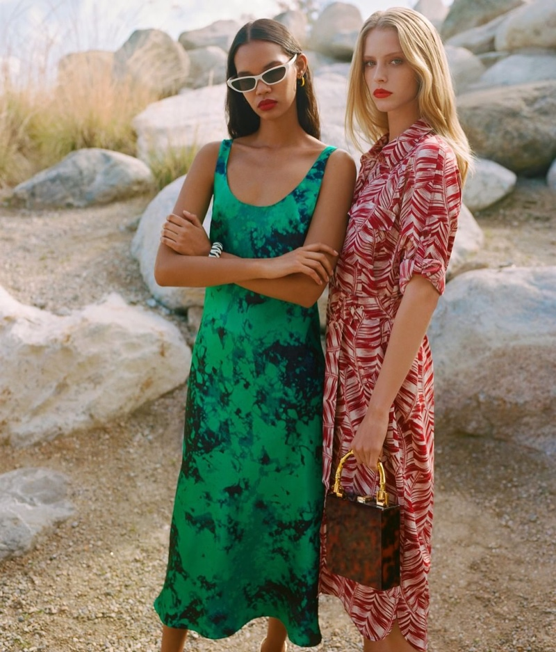 Photo from the Topshop spring-summer 2019 campaign