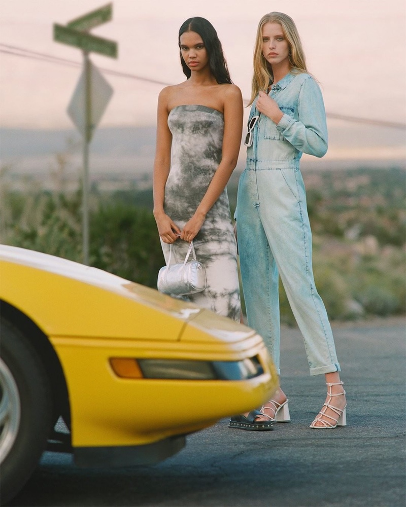 Topshop features trendy styles in Topshop spring-summer 2019 campaign