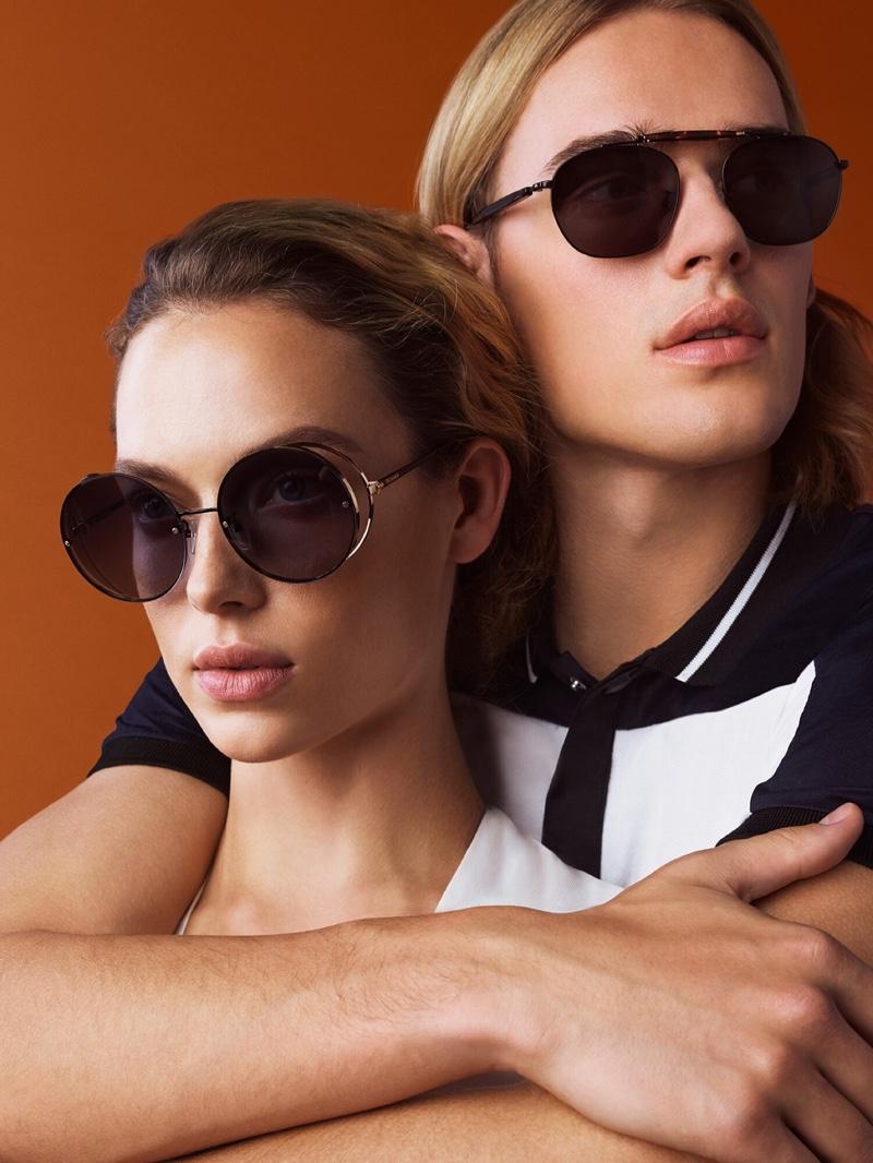 Trussardi spotlights sunglasses in spring-summer 2019 campaign