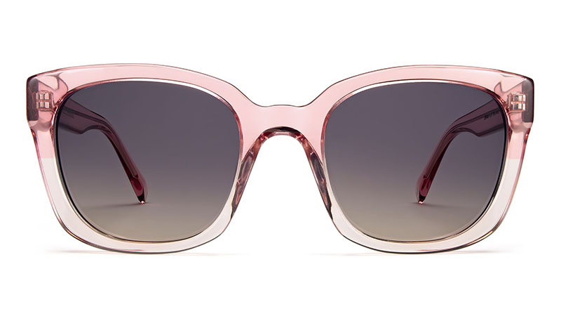Warby Parker Aubrey Sunglasses in Cherry Blossom Fade $95
