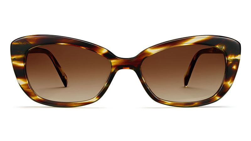 Warby Parker Felicity Sunglasses in Striped Sassafras $95