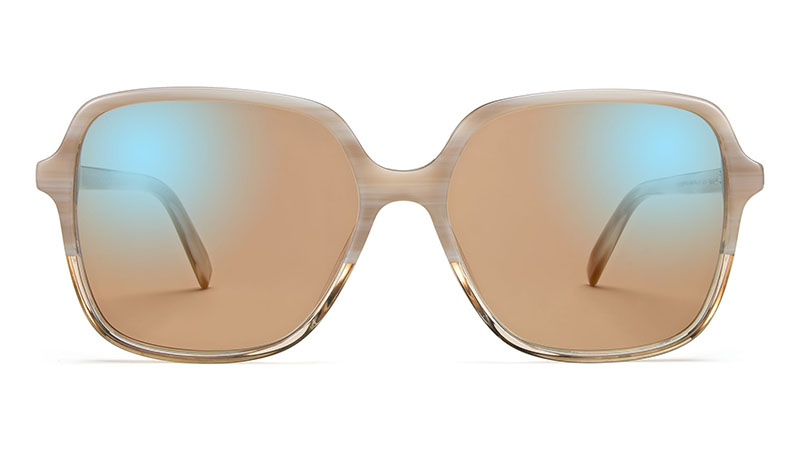 Warby Parker Florence Sunglasses in Alabaster Crystal Fade $95