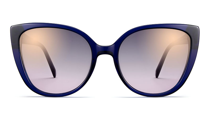 Warby Parker Phoebe Sunglasses in Lapis Crystal $95