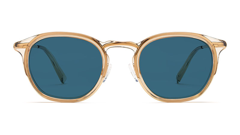 Warby Parker Tate Sunglasses in Nutmeg Crystal $145