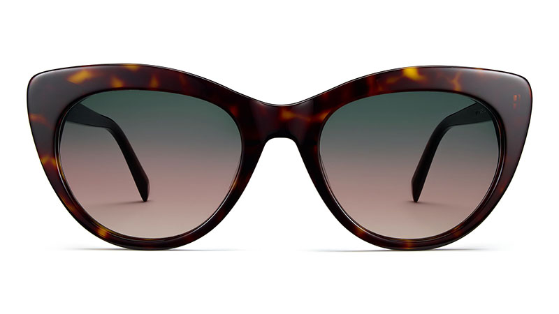 Warby Parker Tilley Sunglasses in Cognac Tortoise $95