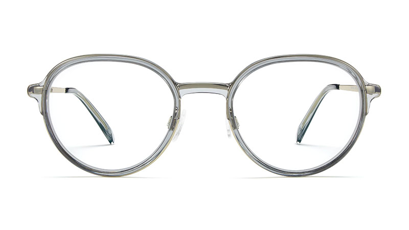 Warby Parker Whitaker Glasses in Soapstone with Riesling $145