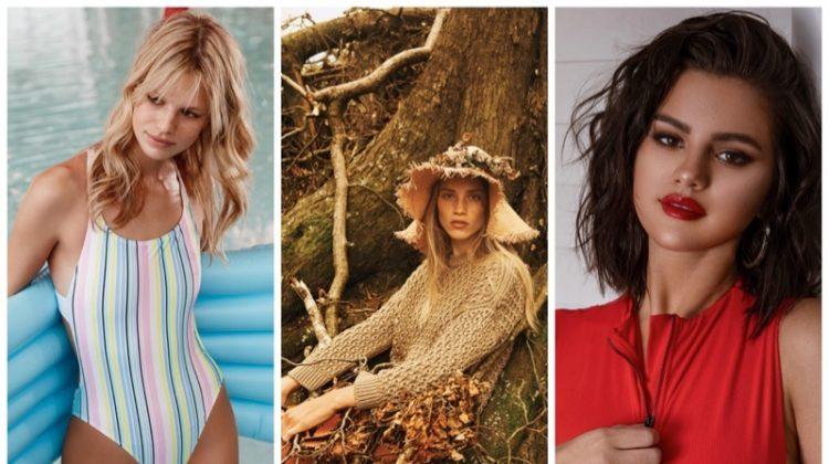 Week in Review | Rebecca Leigh's New Cover, Nadine Lepold for Simons, Selena Gomez in Swim + More