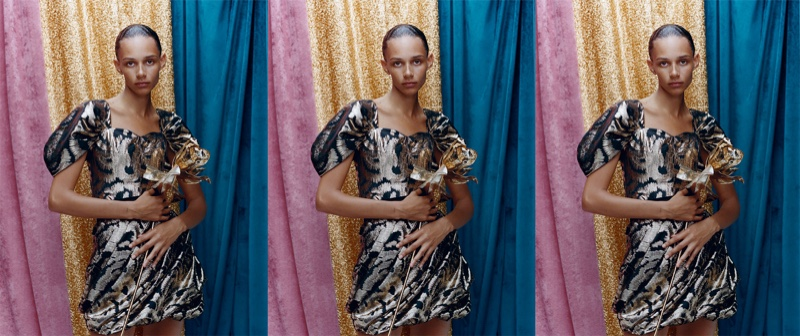 Zara Balloon Sleeve Top with Metallic Thread and Mini Skirt