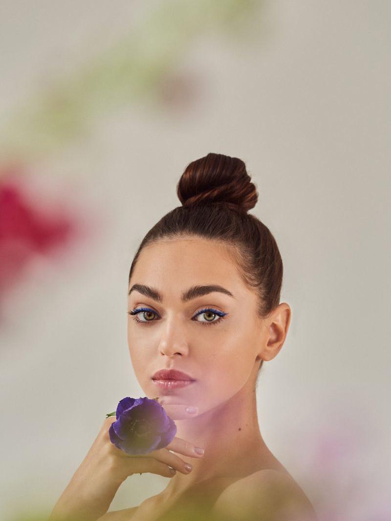 Zhenya Katava Blooms in Spring Beauty for Grazia Russia