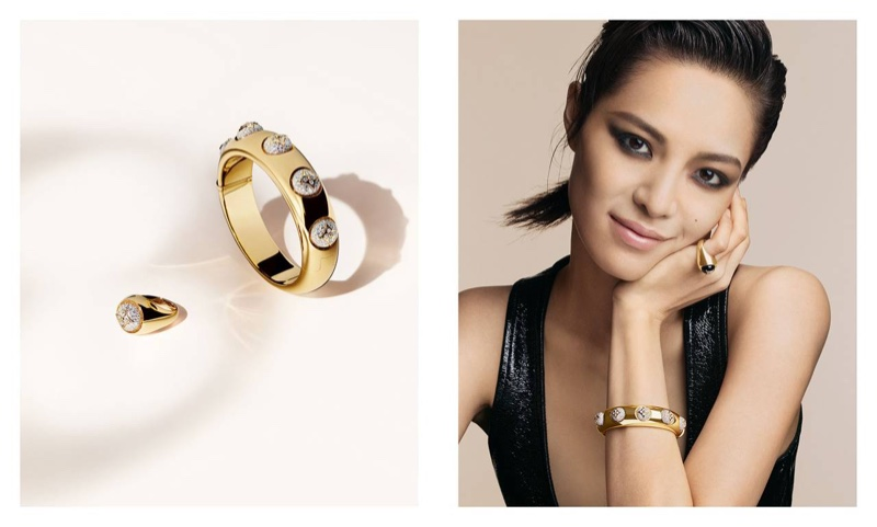 Zhong Chu Xi stars in Louis Vuitton B. Blossom fine jewelry campaign