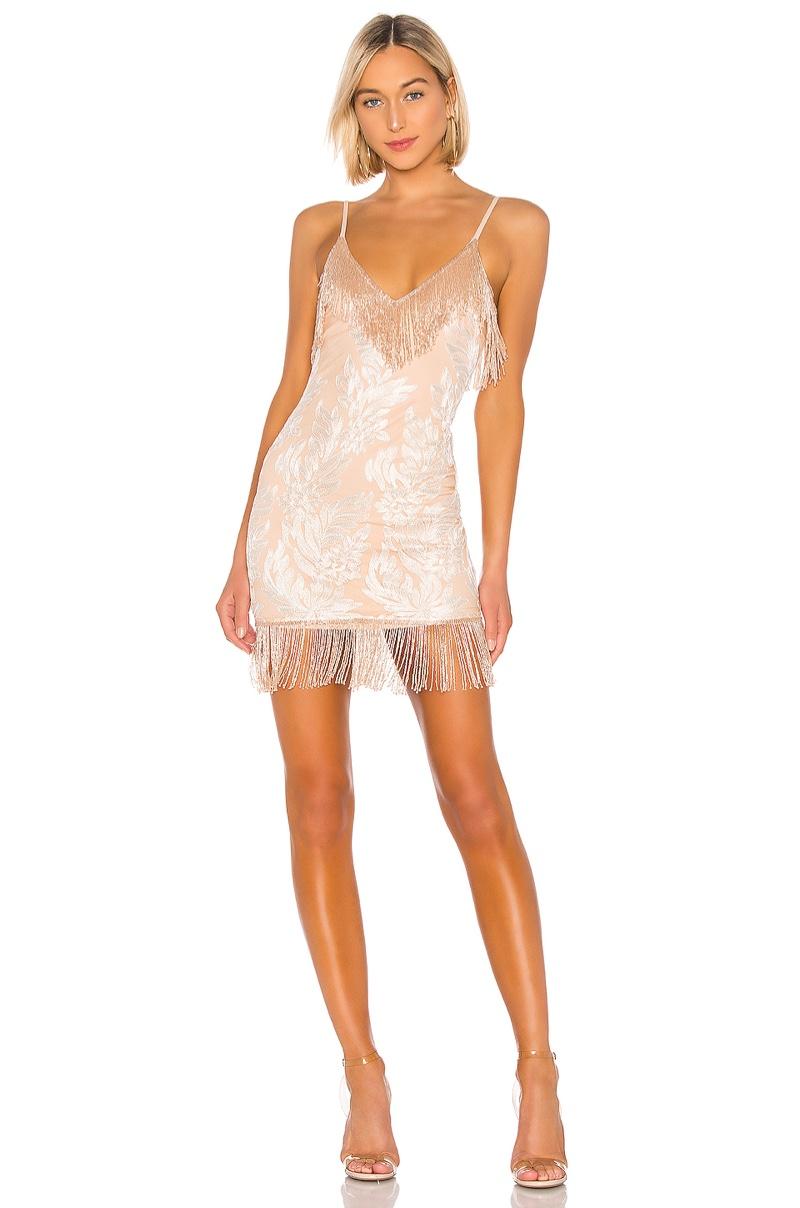 h:ours Janisa Embellished Mini Dress $308