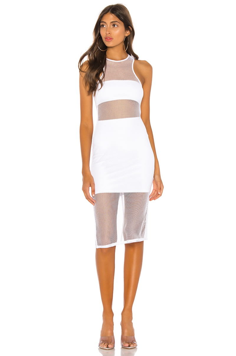 h:ours Nelly Midi Dress $148