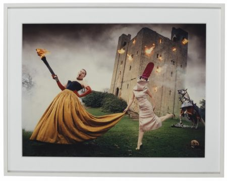Alexander McQueen and Isabella Blow photographed by David LaChapelle