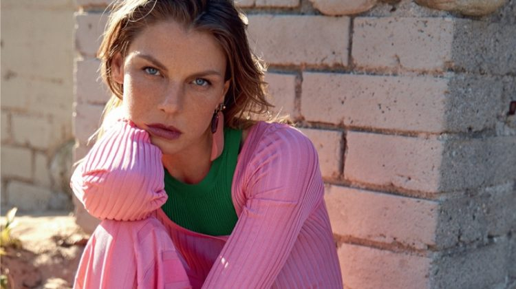 Angela Lindvall Poses in Summer Looks for Madame Germany
