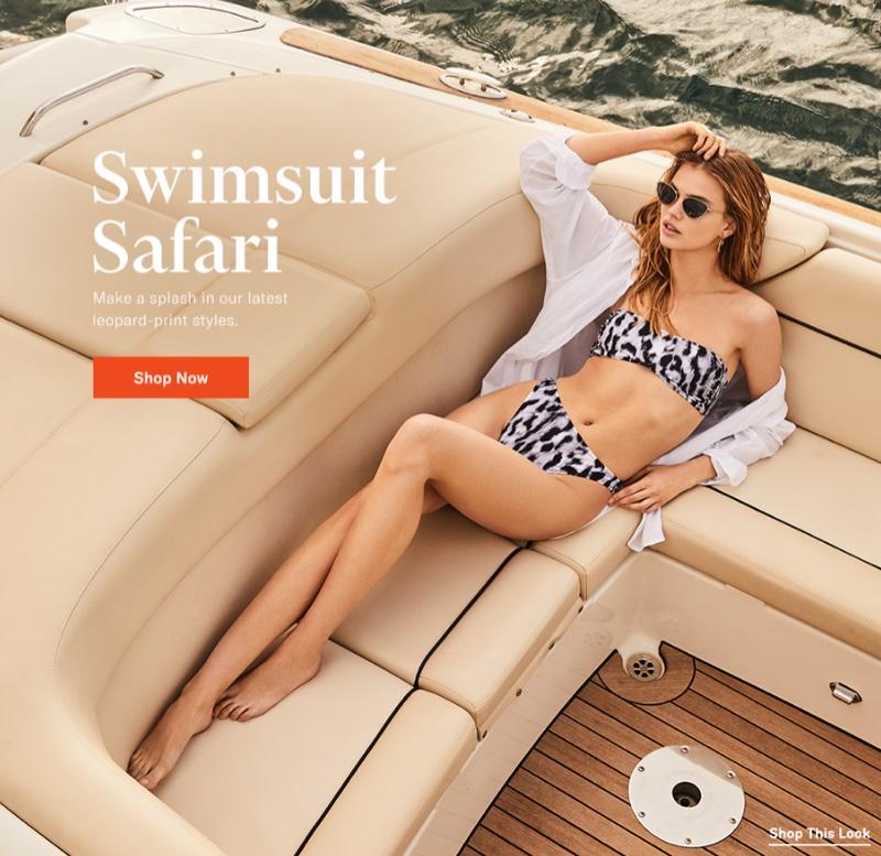 Norma Kamali Sunglass Bikini Bra $85 and Luca Bikini Bottoms $75