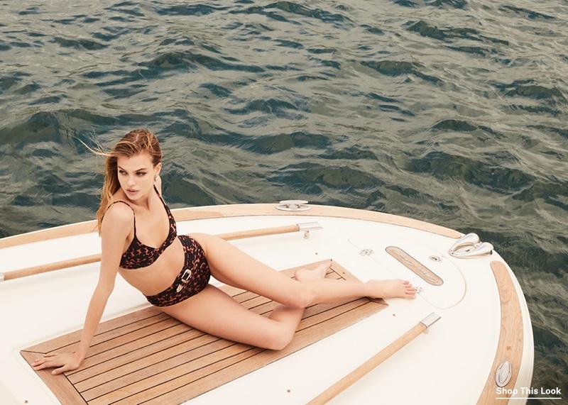 Beach Riot Camilla Bikini Top $99 and Highway Bikini Bottoms $121