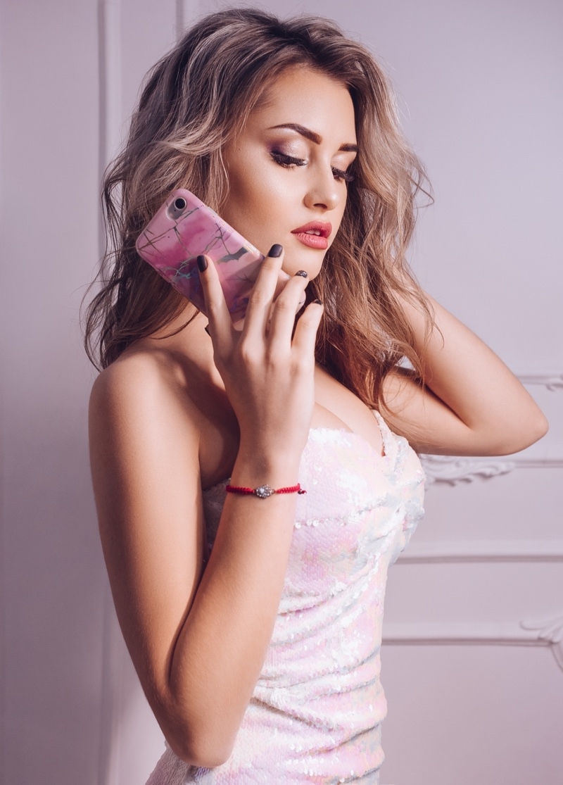 Attractive Woman Stylish iPhone Case
