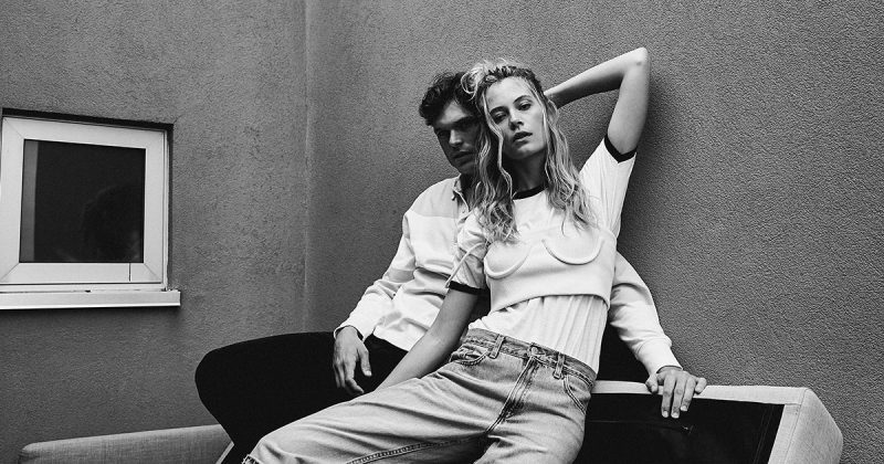 Exclusive: Barbara di Creddo & Mihaly Martins by Thomas Wolfe Northcut in 'Blueside'