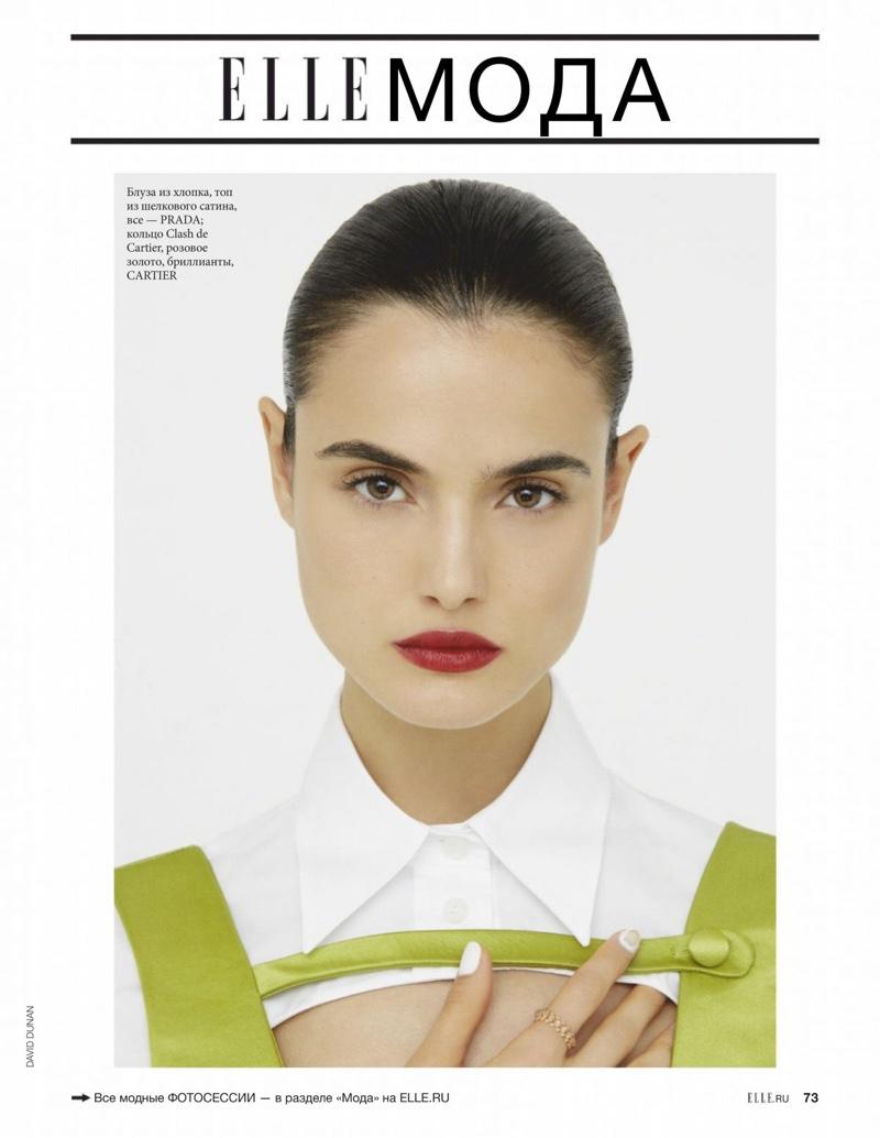 Blanca Padilla Poses in Fashion Forward Looks for ELLE Russia