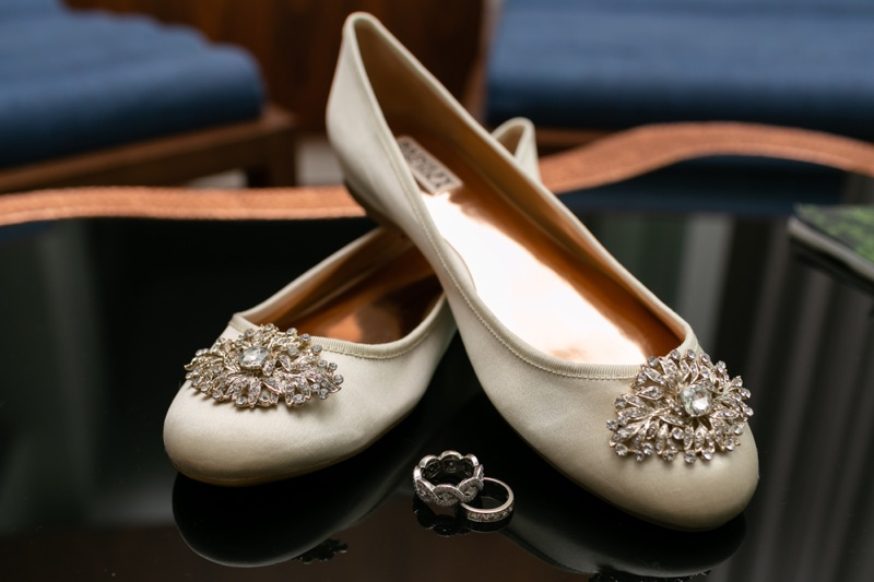 Bridal Shoes Flats Wedding Rings