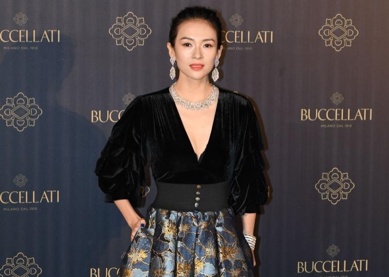 Actress Ziyi Zhang at Buccellati jewelry event