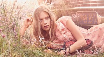 Steven Meisel captures Coach Floral Blush fragrance campaign
