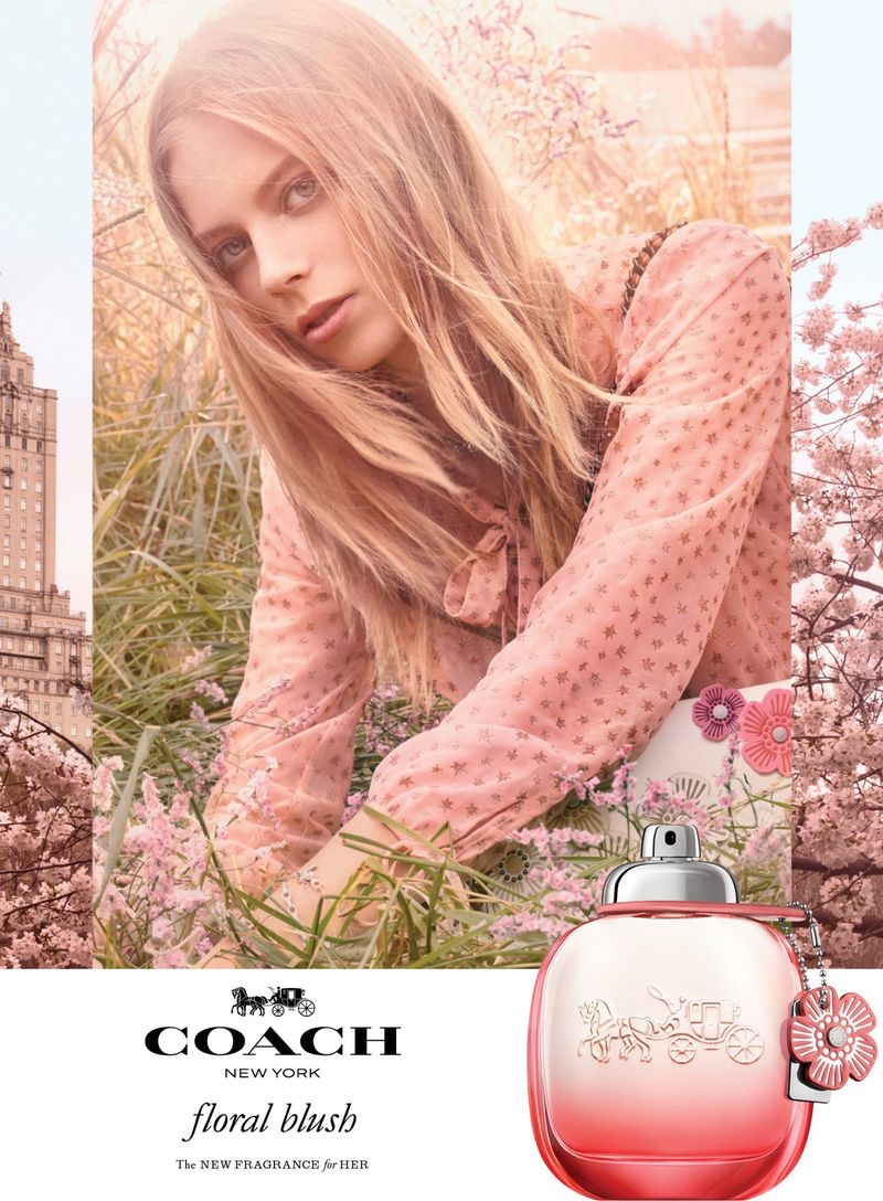 Lexi Boling stars in Coach Floral Blush fragrance campaign
