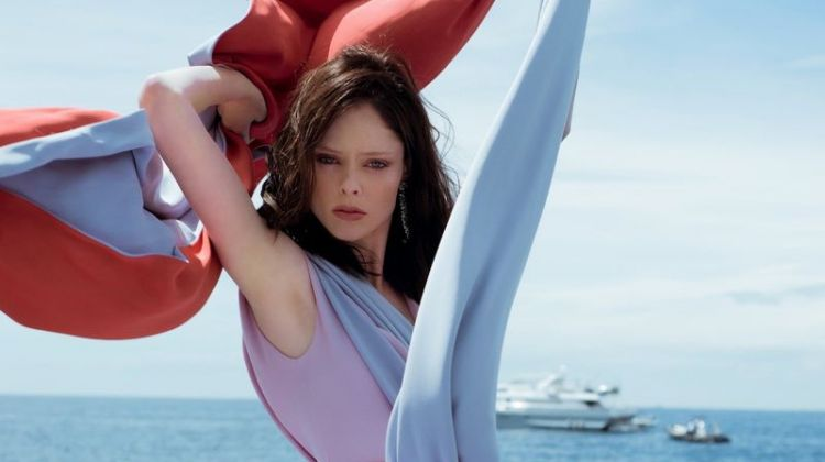 Coco Rocha Soaks Up the Sun in Cannes for ELLE Serbia
