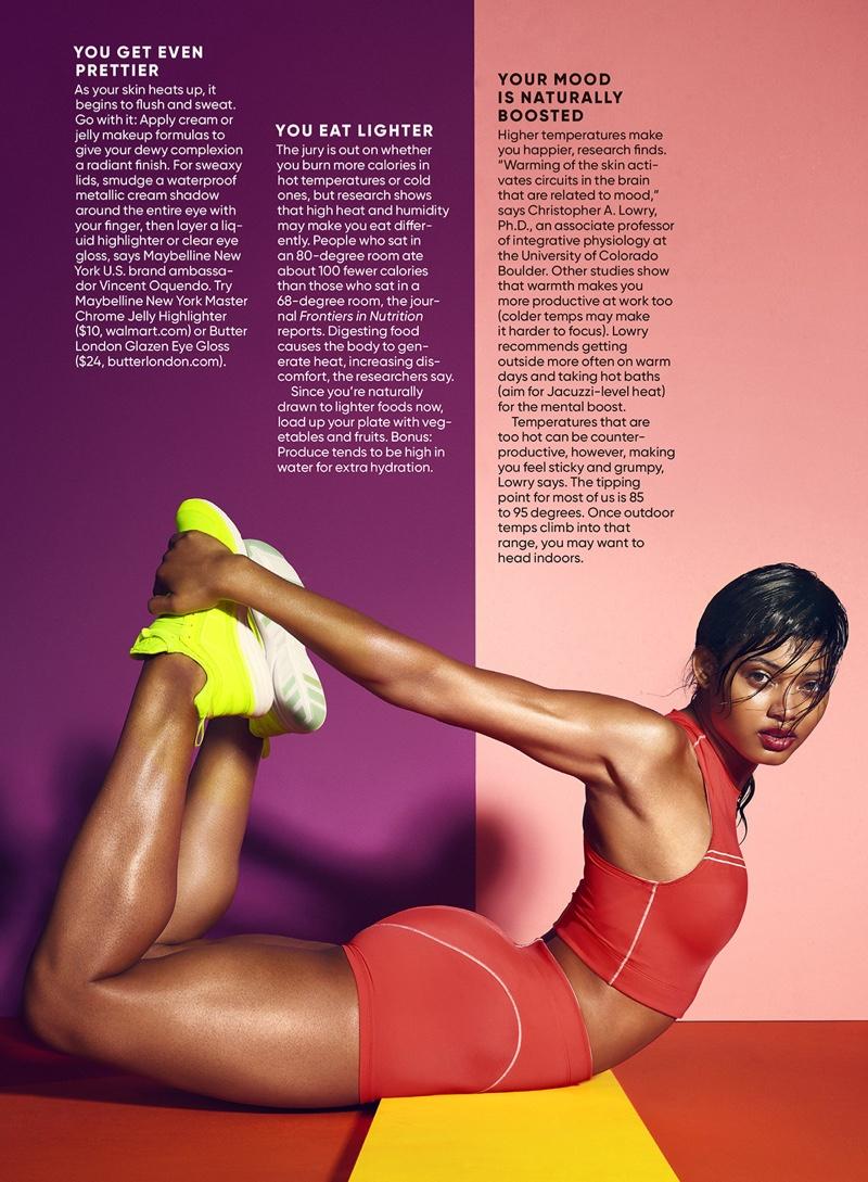 Danielle Herrington Gets Physical for Shape Magazine