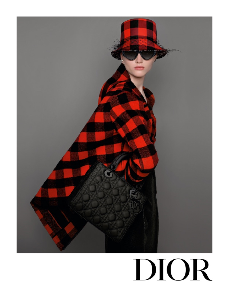 Ruth Bell fronts Dior fall-winter 2019 campaign