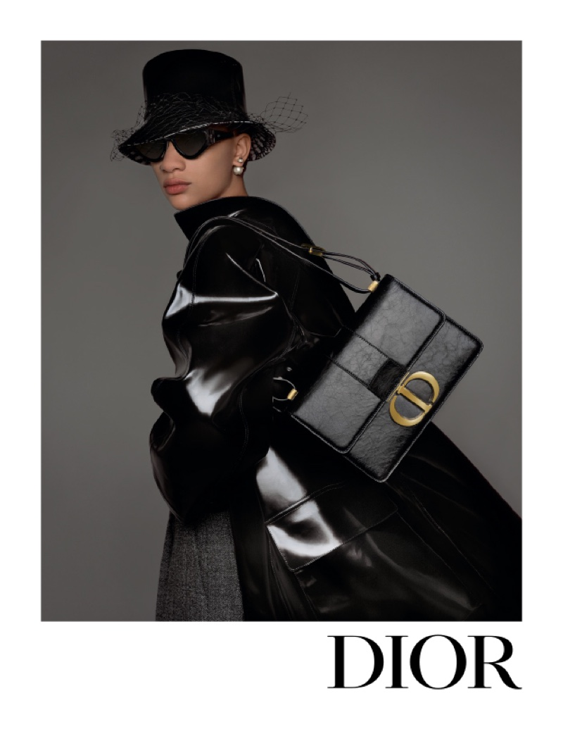 Selena Forrest stars in Dior fall-winter 2019 campaign