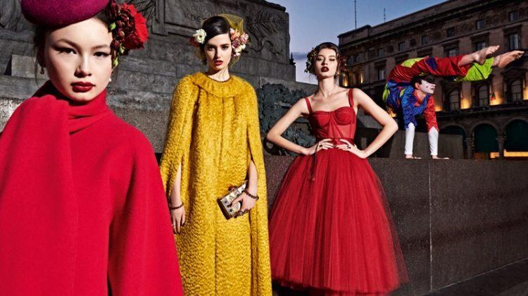 Branislav Simoncik captures Dolce & Gabbana fall-winter 2019 campaign